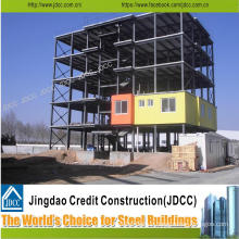 Low Cost Light Steel Structure Multi-Storey Hotel Building