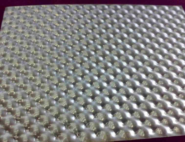 hammered aluminum sheet metal