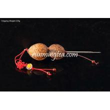 Walnut Handle Pu Er Bolo ou abridor de tijolos / Prying Pick