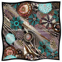 Bandana señoras favorita seda cuadrada bandana de satén