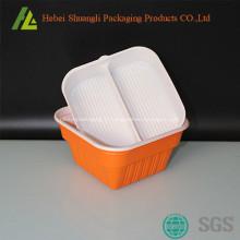 Contenants jetables en plastique à emporter