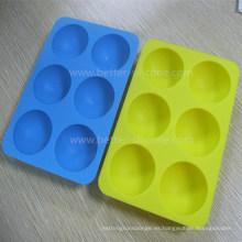 Bandejas de cubitos de hielo de silicona seguras para alimentos personalizadas
