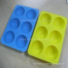 Индивидуальные безопасные для пищевых продуктов силиконовые лотки для льда
