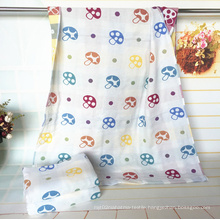3 Layers100% Cotton Mushroom Towel for Baby with 70X140cm
