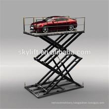 Motor Full Rise Scissor Car Lift