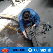 arche de poutre cintrée en acier pour la construction directe de tunnels souterrains