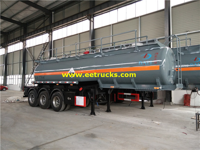 20T 18 CBM Sulfuric Acid Trailer Tanks