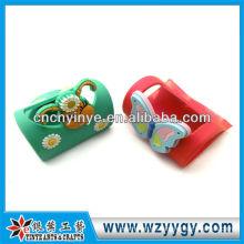 Süße Schmetterling Form weich-Pvc Handyhalter