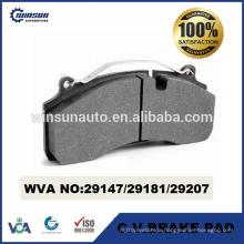 29147 29181 29207 heavy duty disc brake pad for Volvo Renault GIGANT