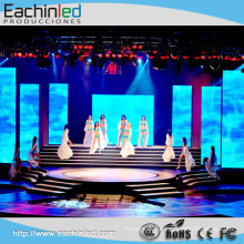 P3.9 500x1000mm Full Color Portable LED Curtain For Stage Background