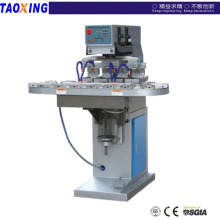 Taoxing 4 color pad printer with vertical conveyor