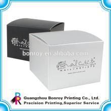Las cajas de regalo de papel de alta calidad plegables de encargo más nuevas del diseño para los tarros