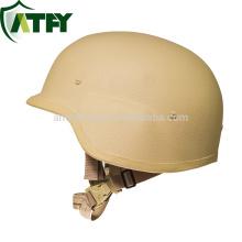 Cascos balísticos militares PASGT M88 a prueba de balas Nivel de prueba de balas NIJ IIIA PE y casco de armadura de aramida