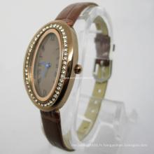 Nouvelles montres en cuir de mode (HAL-1227)