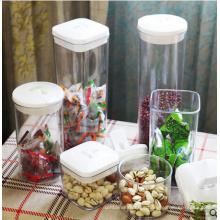 0.4L-2L Food Grade Plastic Storage Jar