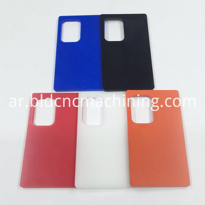 CNC machining color POM material