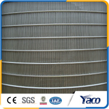 China online shopping flat welded stainless steel wire wedge screen