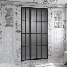Seawin 3/8 thickness Changhong glass pattern Swing Pivot Shower Door