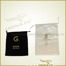 Saco do secador de cabelo do hotel com logotipo
