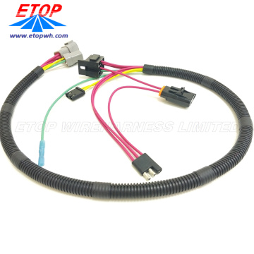 Automotif IP67 Air Perhimpunan Peti Wire Assembly