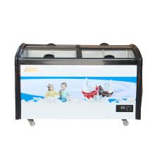 Морозильная камера морозильной камеры с однослойным компрессором