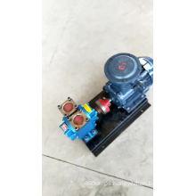 High flow high efficiency diesel transmission gear electric drive pump