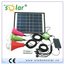 CALIENTE de la venta Kits solares para África con el cargador del teléfono móvil