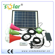 novos produtos 2014 recarregável solar luz conduzida, recarregador solar diodo emissor de luz, luz de emergência recarregável solar conduzida