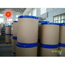 Papier thermique vierge ou imprimé de 76 mm de large pour imprimante à pos