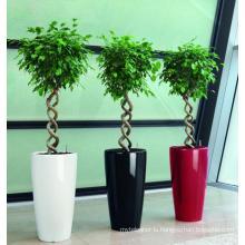 (BC-F1045) Fashionable Design Plastic Self-Watering Flower Pot