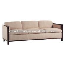 Wooden soft hotel sofa manufacturer XYN1055
