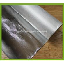 Feuerbeständiger Aluminiumfolie-überzogener Glasfaser-Stoff
