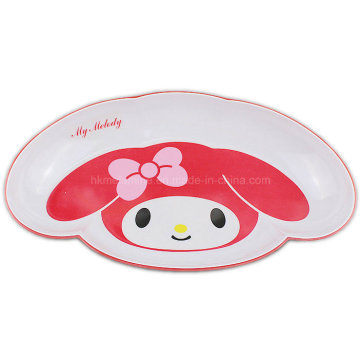 Melamine Dinner Plate with My Melody Logo (PT7245)