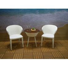 Patio Leisure Outdoor Rattan Garden Furniture Table Chair Set