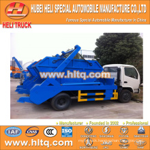 DONGFENG 4x2 95hp 4m3 city garbage truck city sanitation vehicle quality assurance and best price