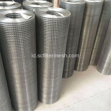 1/4 '' 3/8 '' Stainless Steel Gulungan Wire Mesh Dilas