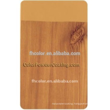 wood effect powder coating with free sample