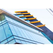 Башенные здания с теплоизоляцией Двойное остекление Алюминиевые навесные фасады