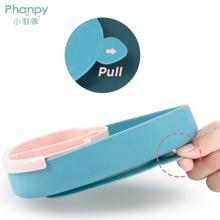 Placa de silicona para bebés con succión para la alimentación de bebés pequeños