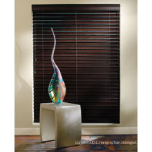 New wood venetain blinds