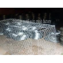 Hot DIP Galvnized Gabion Box utilisé pour Stone Cage