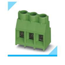 Fábrica 3 Pin 7.62mm Passo PCB Blocos de Terminais de Parafuso Verde