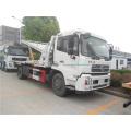 Camión de auxilio de plataforma plana Dongfeng 4x2 en África