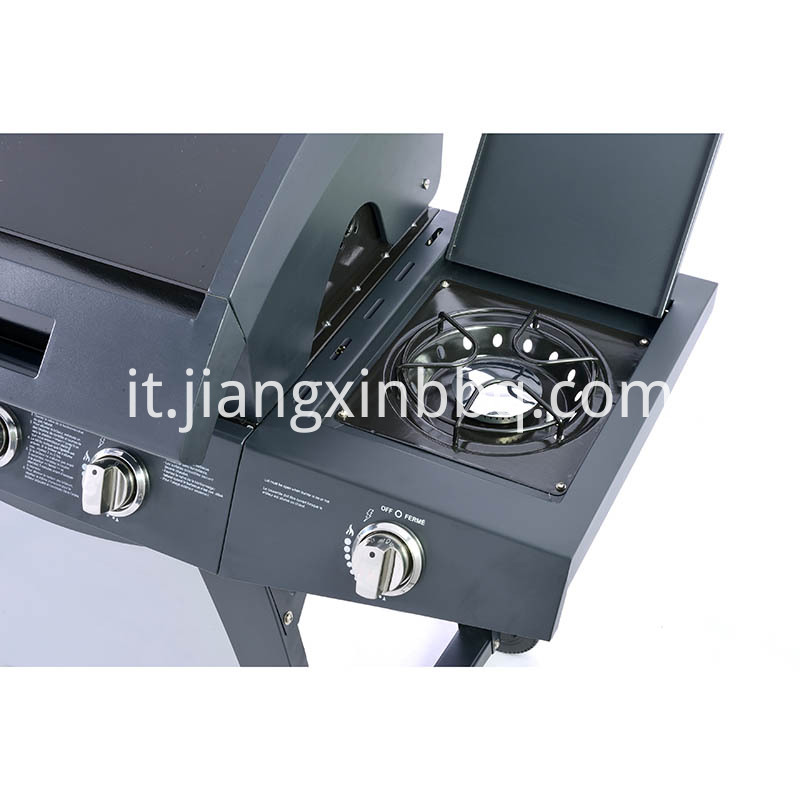 3+1 Burners Gas Grill Burner