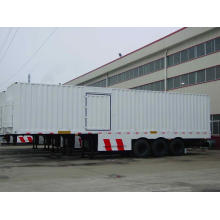 Two Axle Box/Curtain Side Semi-Trailer