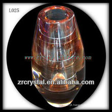 Vaso de cristal agradável L025