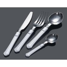 Silver Spoon Plastic Cutlery/Fork/Knife/Spoon