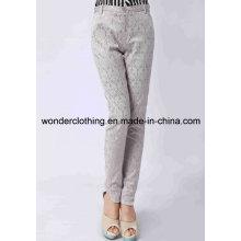 Повседневная горячая Оптовая Женская боковой панели мода брюки