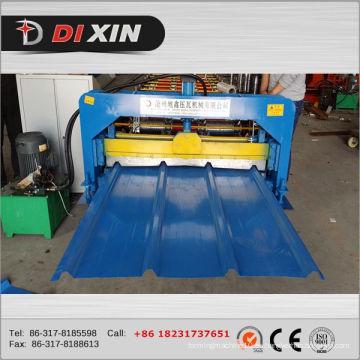 1000 Máquina de panel de techo de acero Máquina de laminado de panel de pared trapezoidal