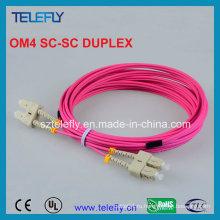 Волоконный шнур Om4 Sc-Sc
